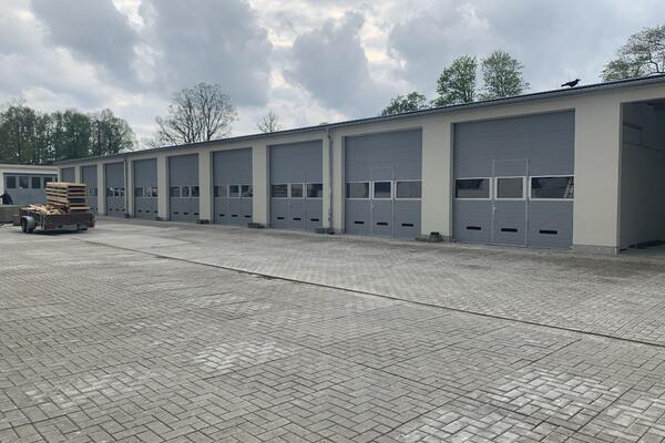 ConDoor Industrie-Sektionaltore ISO40 Typ S40, RAL 7040