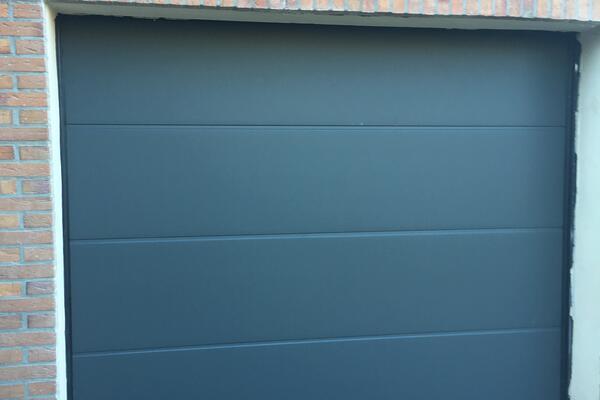 ConDoor Garagen-Sektionaltor ISO40 ohne Sicke Typ Design-Line Granite 2400 x 2000 mm