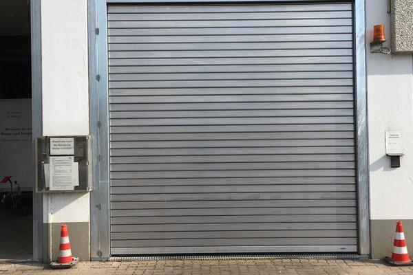 Braselmann Rolltoranlage Profil 1.100D Aluminium 3160 x 3420 mm, Waschhallenausführung