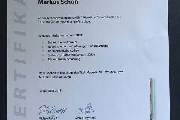 Magnetic Autocontrol Seminar Soltau