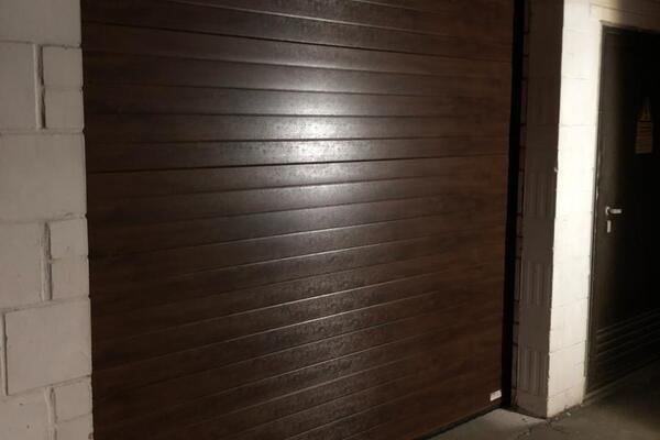 ConDoor Garagentor Wood Placha Dark 2575 x 2857 mm