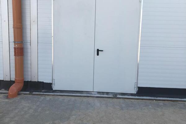 Hörmann D65 - 2-flg. Tür 2000 x 2500 mm verzinkt und grundiert
