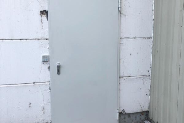 Teckentrup Stahltür DW 62-1 1000 x 2125 mm verzinkt und grundiert